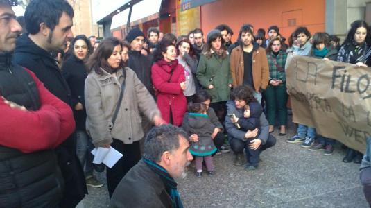 Concetración en Zaragoza
